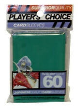 Players Choice 60 Count Green Yugioh Small Deck Protector Card Sleeves