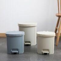 Home Bathroom Kitchen Step on Wastebasket Trash Rubbish Garbage Can Dust Bin