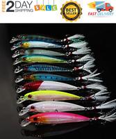 10 Fish Bait Rapala X-Rap Style Crankbait Jerkbait Señuelos De Pesca De Calidad