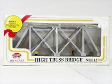 """Model Power Ho Built-Up - Assembled """"High Truss Bridge"""" Model Kit #112"""