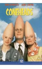 Coneheads DVD Dan Aykroyd Jane Curtin cone heads Original UK Rel New Sealed R2