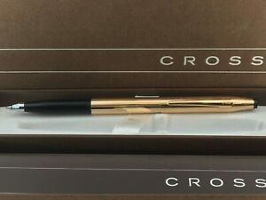 """CROSS 14k """"ROSE GOLD"""" FILLED CLASSIC CENTURY SELECTIP ROLLERBALL PEN. NEW IN BOX"""