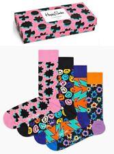 Happy Socks - Socken - Festival 4er Giftbox, Geschenkbox - schwarz / bunt / bunt