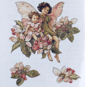 Wall Decals Fairies Fairy Apple Blossom Flowers Wallies Decoupage Paper Cutouts