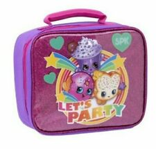 Shopkins Let's Party Cupcake Donut Kids Lunch Tote Bag
