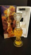Avon Regency Candlestick Decanter Bottle Bird of Paradise Cologne 3/4 Full