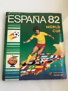Panini Espana 82 World Cup sticker album - 100% Complete