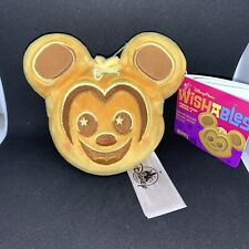 New listing Disney Parks Wishables Snacks Food Series 2 Mickey Mouse Waffle Plush Toy