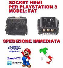 SOCKET HDMI PLAYSTATION 3 PS3 FAT PORTA CONNETTORE HDMI CON 3 FILE 20 PIN CECHx