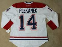 Reebok Montreal Canadiens Plekanec Hockey Jersey - Authentic Size 56 Edge 2.0