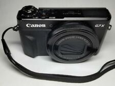 Canon PowerShot G7x Mark II 20.1MP  Camera (WORKS - SCREEN MOUNT DAMAGE)  READ !
