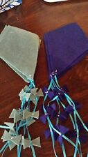 Flannel Game/Bulletin Board Kites--Blue/Blue
