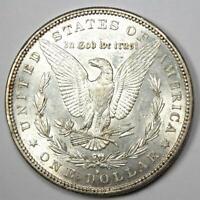 1883-S Morgan Silver Dollar $1 - Choice AU / Borderline UNC MS - Rare Date Coin