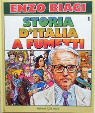 ENZO BIAGI STORIA D'ITALIA A FUMETTI N.1 DEAGOSTINI 1988