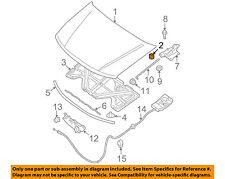 NISSAN OEM-Hood Rubber Bumper Cushion 658298J000