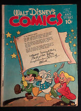 Walt Disney's Comics & Stories Vol.5 #10 Golden Age Comic Jul 1945 Carl Barks G+