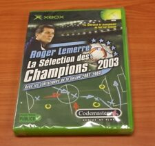 JEU XBOX  roger lemerre sélection champions 2003 foot   neuf