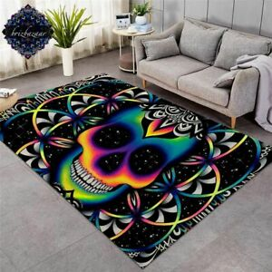 Chaos By Brizbazaar Large Carpets For Living Room Area Rug Non-slip Mat