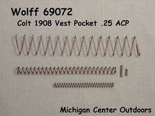 Colt 1908 Vest Pocket .25 ACP Replacement Spring Kit Wolff #69072 Service Pak