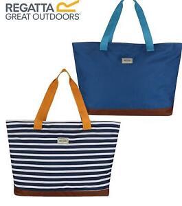 Regatta Stamford Beach Bag - Zip Up, Shoulder Handle, Handbag Shopper Tote