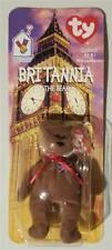Britannia The Bear-1997 McDonald's Ty Beanie Baby British England NEW NIP