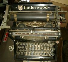 Vintage Underwood Standard No. 5 Manual Typewriter- Working/ beautiful condition