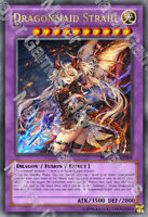 YuGiOh Orica: Dragonmaid Strahl Holo Foil Custom Anime Card Holographic