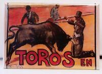 MAGNET BULLFIGHTING Plaza de Toros CARTEGENA 1897 Not Real Poster