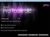 AVID PROTOOLS 8.0.3 SE FOR M-AUDIO GENUINE DOWNLOAD FOR WIN7/8/10 & MAC
