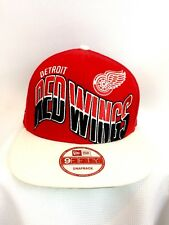 9Fifty New Era Detroit Red Wings Snap Back Hat NWOT