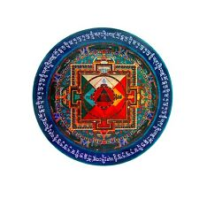Feng Shui Hayagriva Mandala sticker