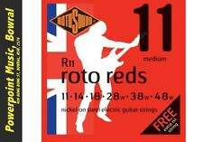 Rotosound R11 Reds Electric Strings w/Spare E string! Gauge 11-48 RRP $14.95