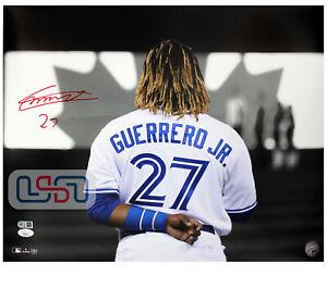 Vladimir Guerrero Jr. Blue Jays Signed 16x20 Photo Photograph JSA Auth