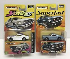 Matchbox Streakers/Superfast 1965 Ford Mustang GT Die-cast Cars Lot Of 2 NOS