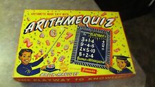 ARITHMEQUIZ ELECTRIC BY JACMAR ARITHMATIC MADE EASY COMPLETE 1960s VINTAGE GAME