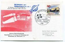1966 Befordert Versuchsreihe VR 7 Hermann Oberth Gesellschaft Bremen Hamburg