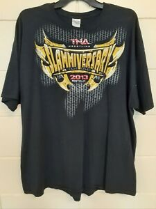 TNA Wrestling Slammiversary Boston MA Men's 3XL T-Shirt