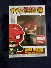 Funko Pop! Marvel Zombies - Zombie Red Skull #668 Collector Corps Exclusive
