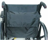 Duro-Med Wheel Chair Back Pack, Black