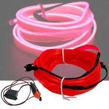 Pink Purple 5M 12V Cold light Atmosphere Lamp Wire Strip Decoration HALS