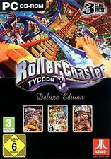 Rollercoaster Tycoon 3 - Deluxe Edition [Software... | Game | Zustand akzeptabel