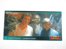1996 STAR WARS TOPPS WIDEVISION RETURN OF THE JEDI ROTJ PROMO CARDS #P1! SOLO!