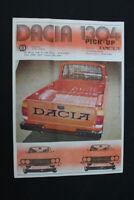 altes Prospekt Werbung Dacia 1300 Reihe Sammler old vintage retro