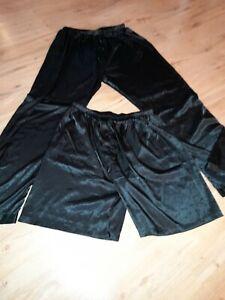 Pyjama Shorts Hose Satin