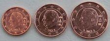 1+2+5 Euro Cent Belgien 2013 unz