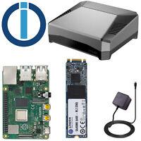 Smarthome Server ioBroker Raspberry Pi 4 (2-8GB) mit SSD - KEINE SD-Karte