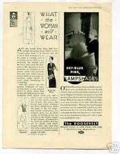 The Roosevelt Hotel Ad 1950's Original Vintage Ad
