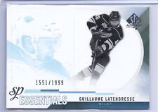 2010 SP AUTHENTIC GUILLAUME LATENDRESSE ESSENTIAL /1999