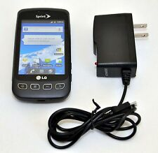 LG LS670 Optimus S Gray Cell Phone Sprint CDMA Android 2.2 WiFi 3G grey black -C