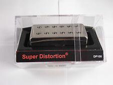 DiMarzio Regular Spaced Super Distortion Bridge Humbucker W/Nickel Cover DP 100